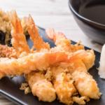 Esta receta de cigalas en tempura con verduras es fantástica para consumir marisco este invierno