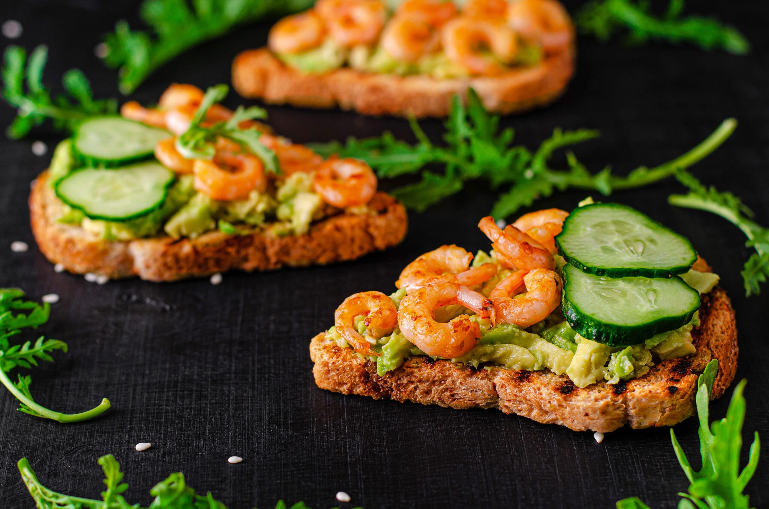 Top 3 Sandwich de marisco, camarones