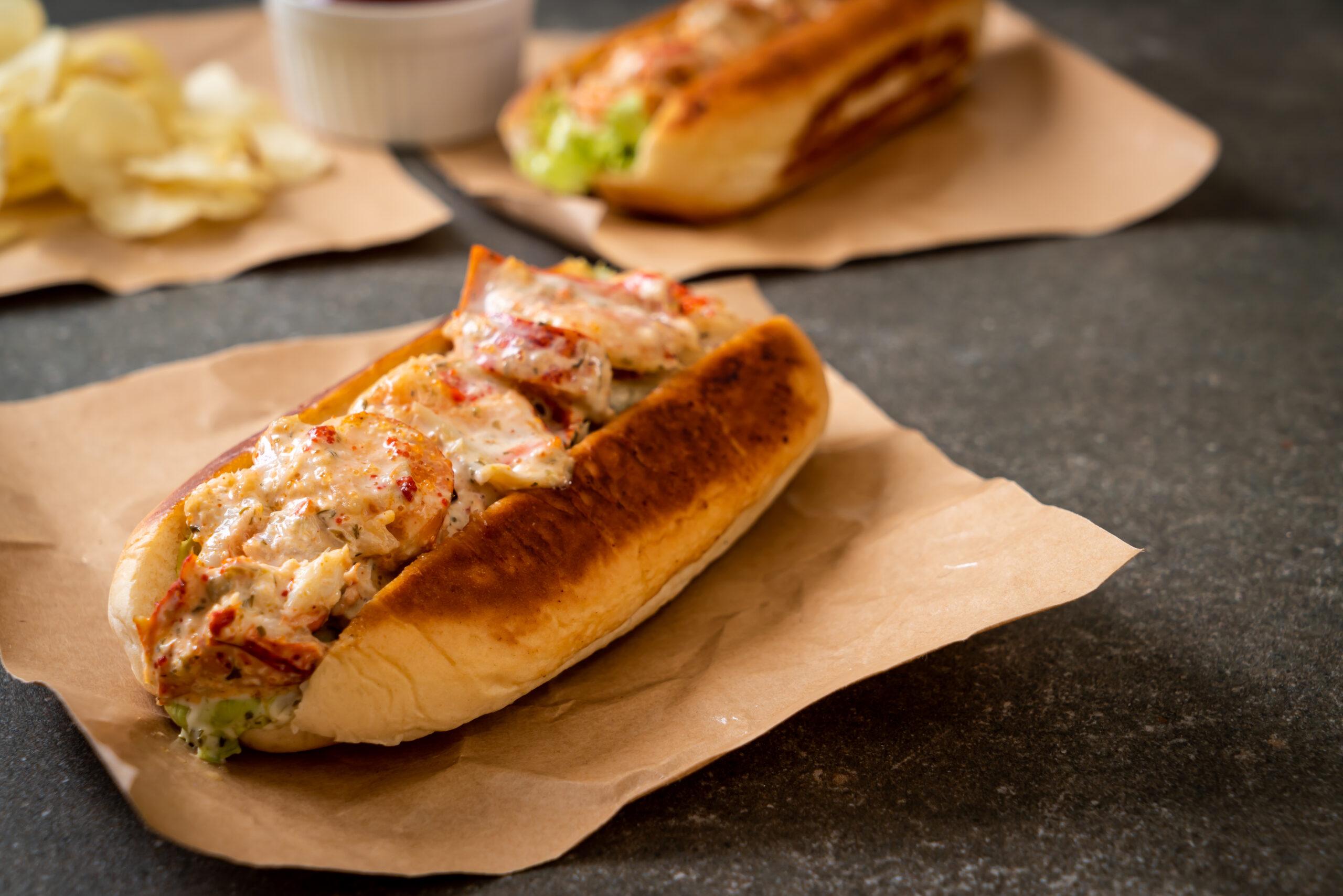 sandwich de marisco gallego con langosta