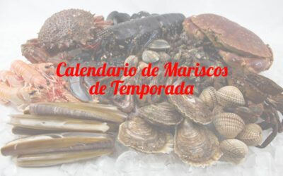 Marisco gallego de temporada: calendario de mariscos