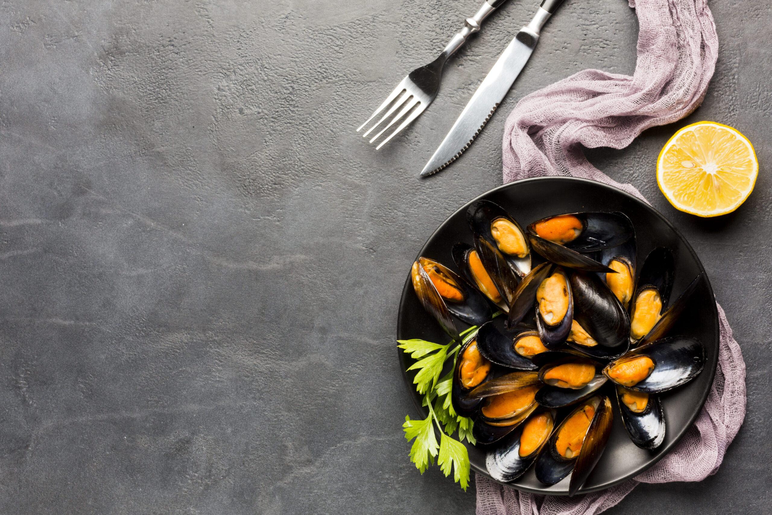 los mejillones son ricos en minerales y vitamina B12