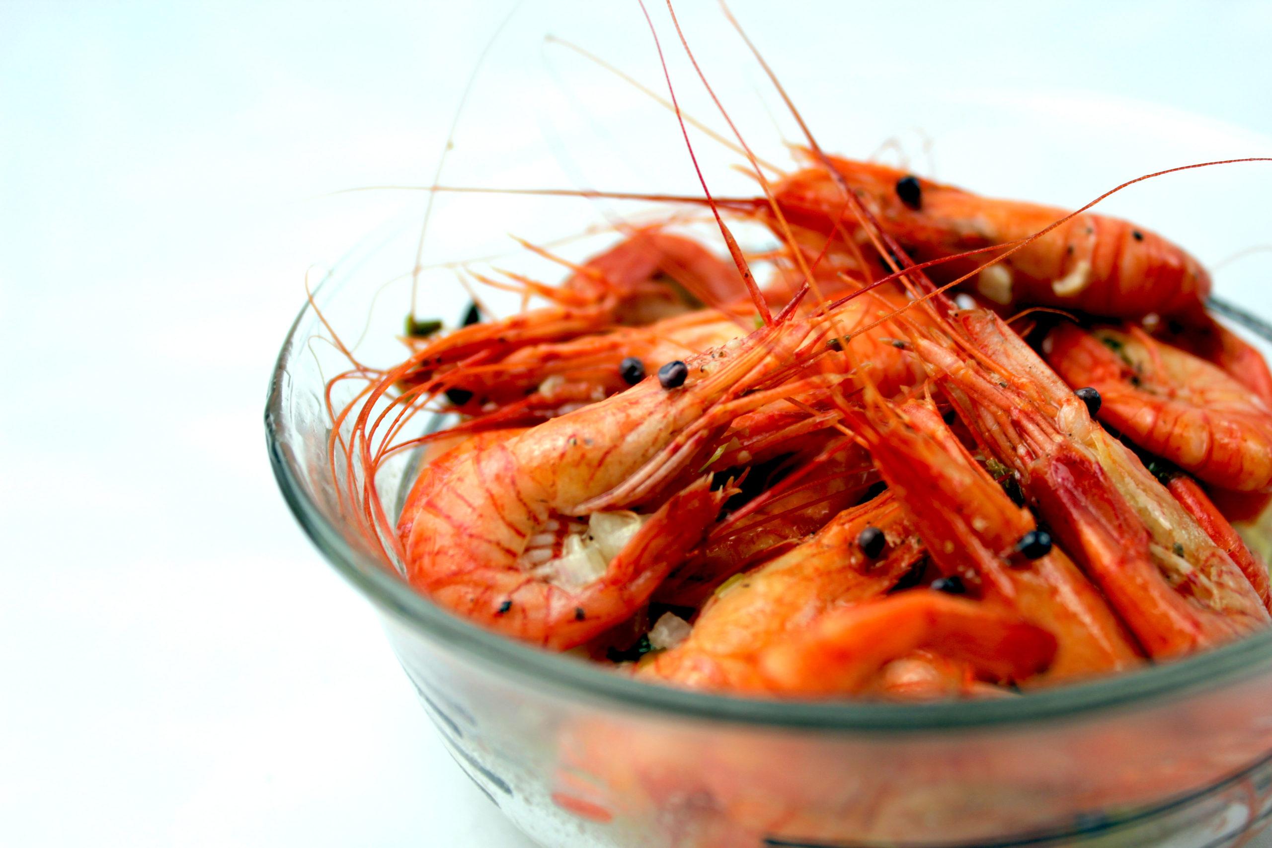 receta camarones ajillo