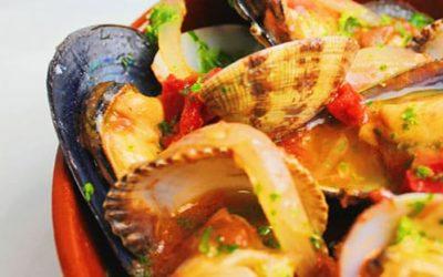 Cazuelita de Marisco: Recetas bajas en grasas