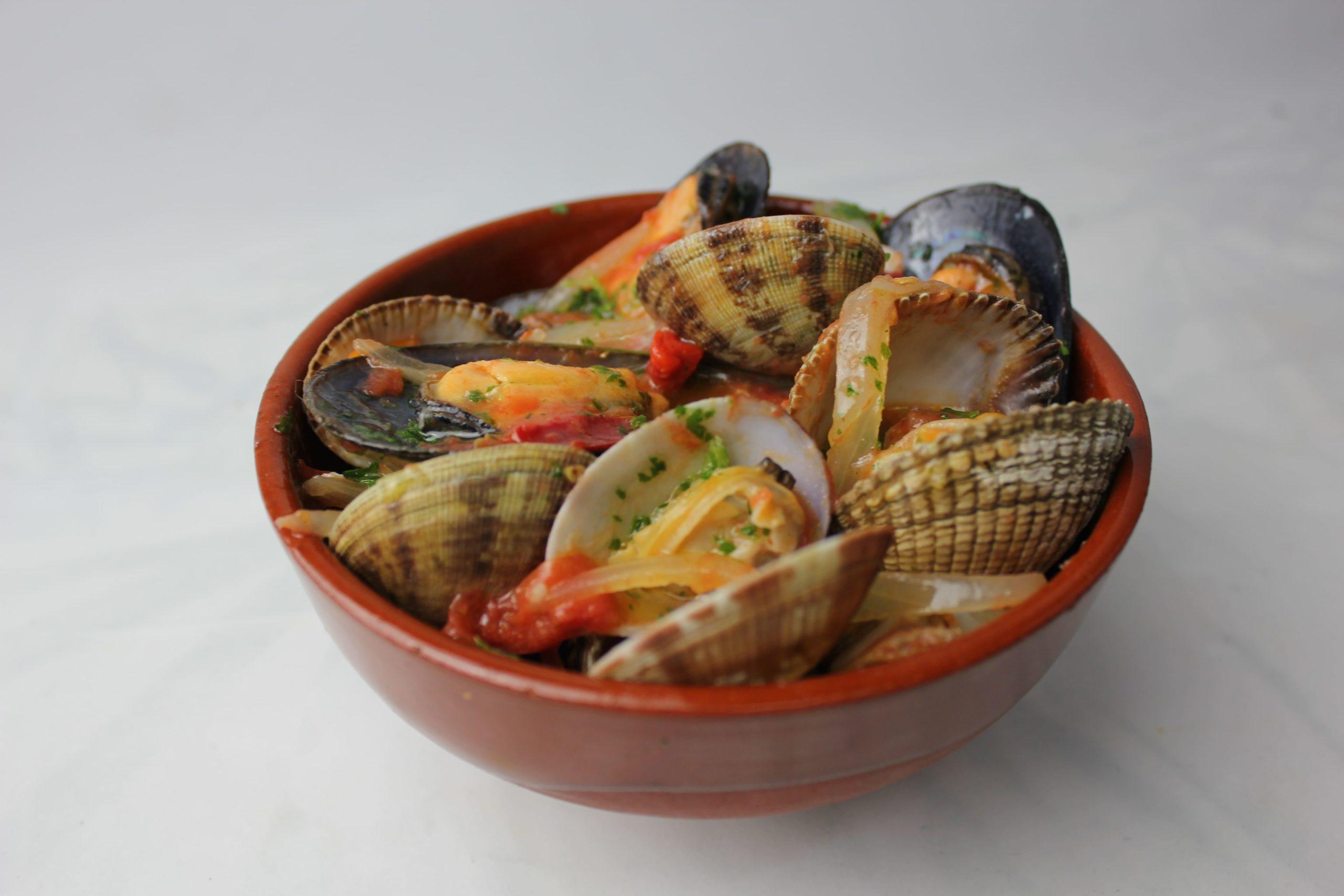 cazuela marisco